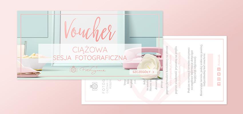 Ciążowa sesja zdjęciowa - voucher